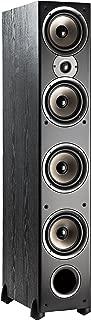 Polk Audio Monitor 70 Series II Floorstanding Speaker - Big Sound, | 1 (1-inch) Tweeter and 4 (6.5-inch) Woofers | Black, Single