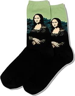 Hot Sox Women's Artist Series Crew Socks | Mona Lisa