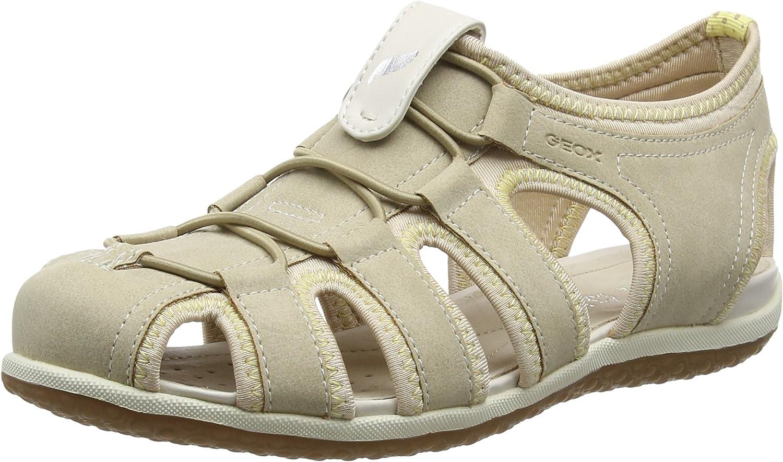 Geox Damen Damen Vega D Geschlossene Sandalen  bester Verkauf