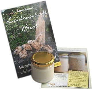 Leidenschaft-Brot Brotbackbuch  Roggensauerteigkultur mit Anleitung