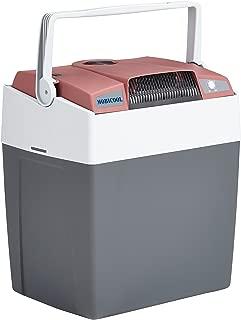 Mobicool G30 AC/DC - Nevera termoeléctrica portátil, conexiones 12 / 230 V, 29 litros de capacidad, con USB para carga de dispositivos, color rojo/gris