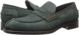 Barbour Suede Loafer w/ Half Rubber Sole