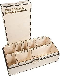 The Broken Token Longer, Harder Wood Card Case - 2 Row