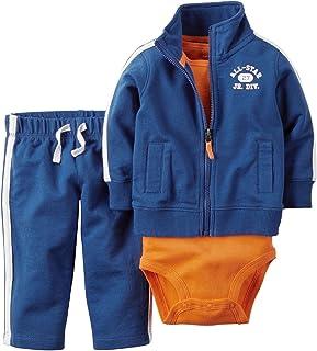 Carter's baby-boys 2 Piece Cardigan Set 121g368