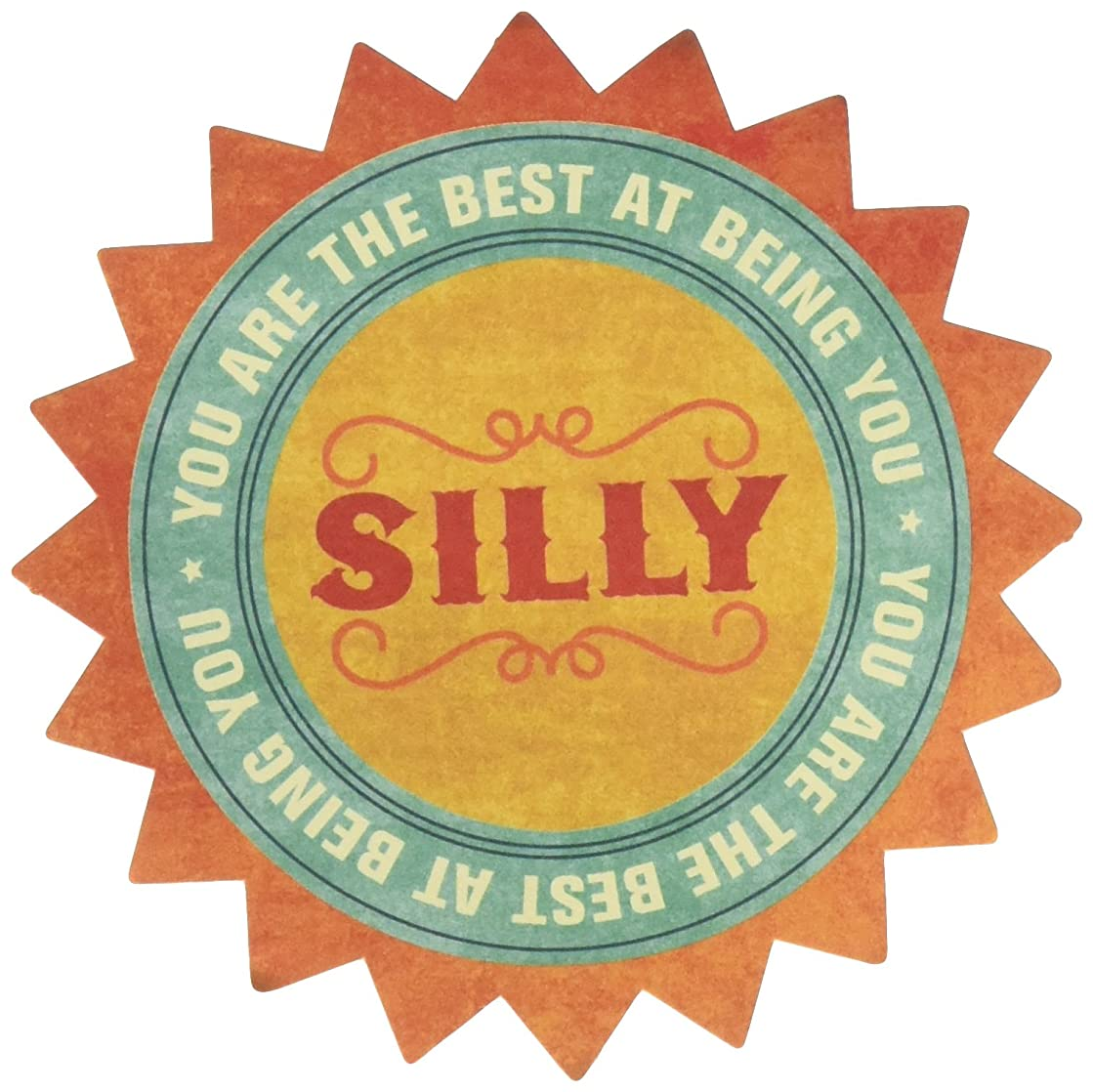 My Mind's Eye Collectable Notable Cardstock Title-Silly 10 per pack