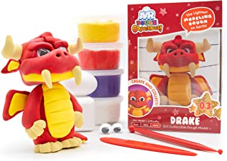 Air Dough Collectibles - Drake (Dragon) - Character Creation Kit, DIY Kit, Kids Gifts, Craft Set for Boys & Girls by Scentco
