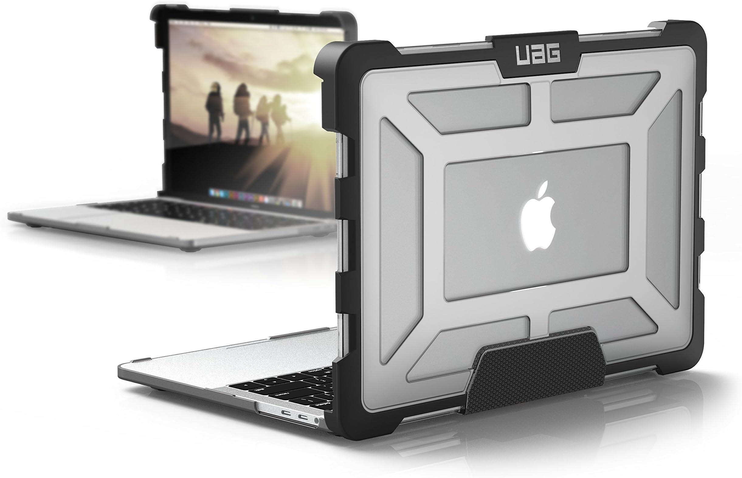 URBAN ARMOR GEAR URBAN ARMOR GEAR MacBook Pro 13-inch (4th Gen, 2016-2019) Feather-Light Rugged Ice Military Drop Tested Laptop Case