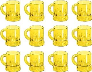 Beistle S50436AZ12 Mug Shots 12 Piece, 3 Ounces, Yellow