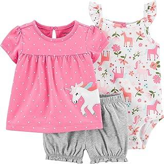 Carter's 3-Piece Little Girls Short Set