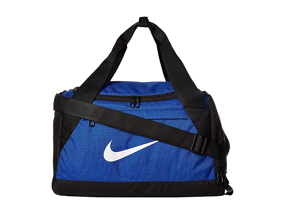 a436dcfa0b Nike Brasilia Extra Small Training Duffel Bag (Game Royal Black White)  Duffel