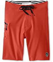 Volcom Kids - Lido Solid Boardshort (Big Kids)