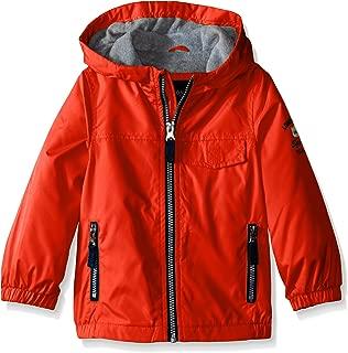 Boys' Fleece Lined Windbreaker Jacket