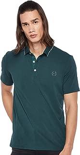 Armani Exchange Men's 8NZF70 Polo Shirt, Green (Pondero Pine 1835), Large