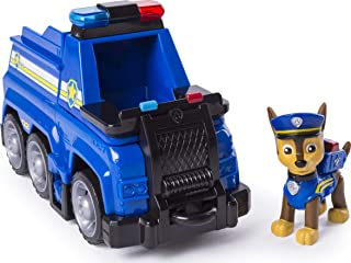 PAW Patrol Chase's Ultimate Rescue Police Cruiser with Lifting Seat and Fold-Out Barricade for Ages 3 and Up