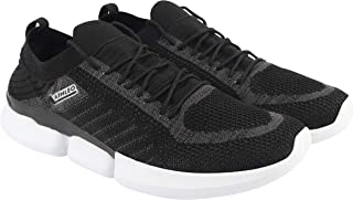 ATHLEO by Action Men Synthetic Fabric EVA Sole Lace Up Outdoor Sports Shoes