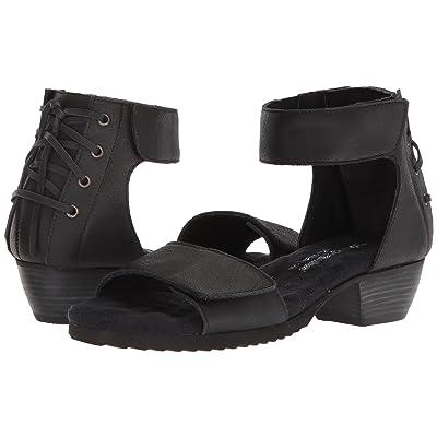Walking Cradles Crosby (Black Saddle Leather) Women