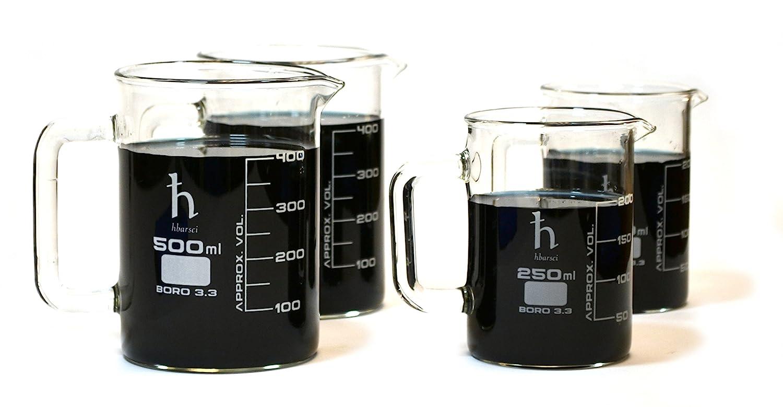 Premium Hand Crafted Beaker Borosilicat Quality Houston Mall Laboratory Mugs Fashionable