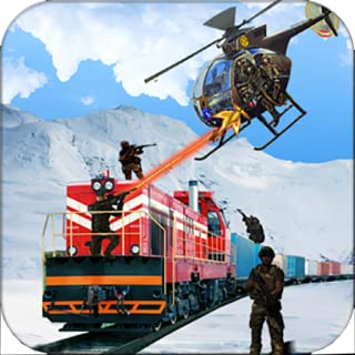 Commando Train Attack Sniper Shooter Action