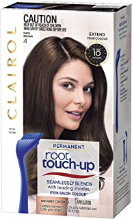 Clairol Root Touch Up, 4 Dark Brown, 1 Application