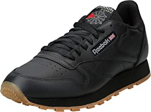 Reebok Classic Leather, Men's Shoes, Black, 8 UK (42 EU)