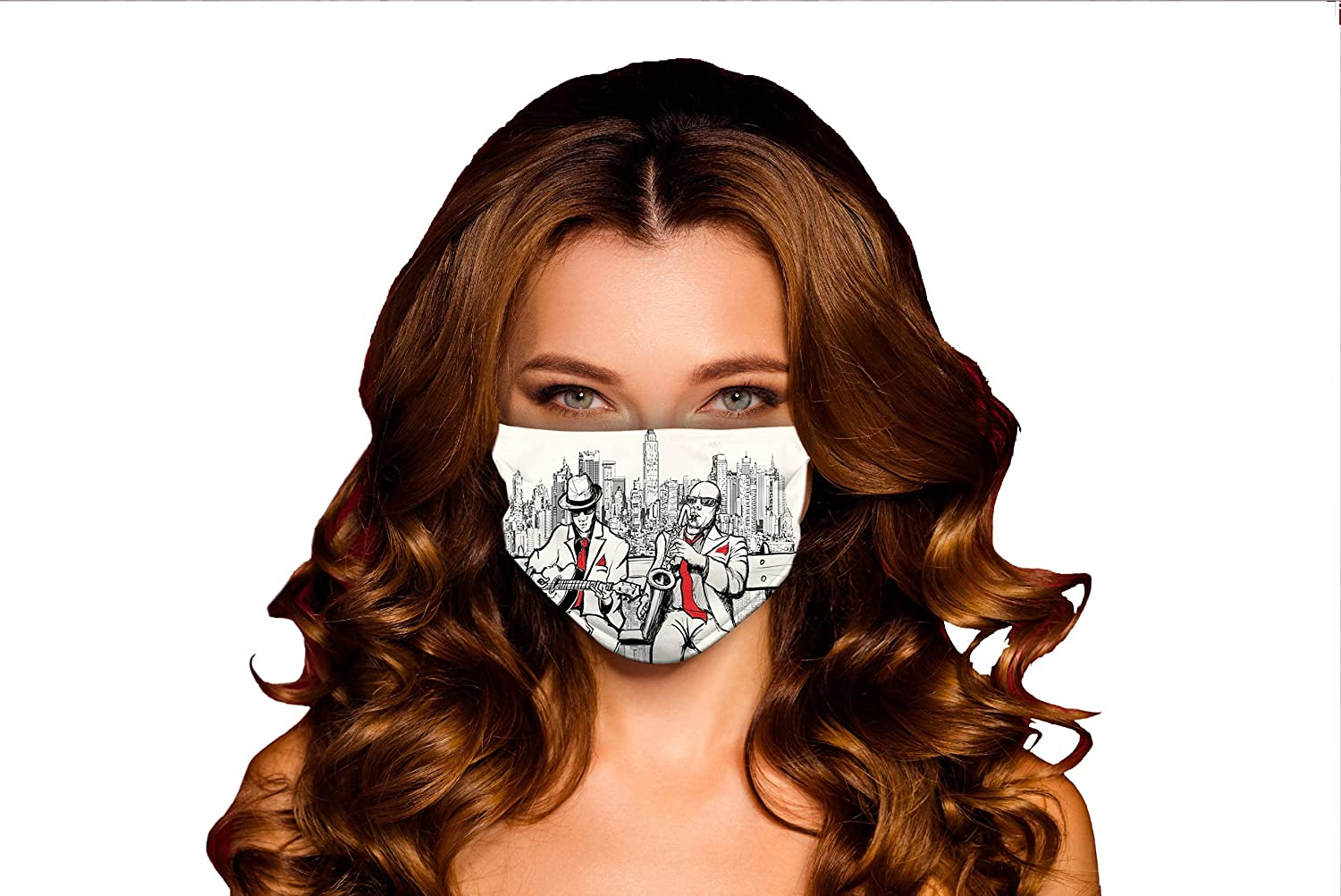Wholesale Free Shipping New Windproof Activated Carbon mask Jazz Men Beats Band in N Playing