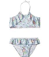 Two-Piece Ruffle Halter Bikini (Toddler/Little Kids/Big Kids)