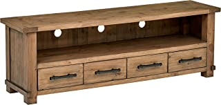 Stone & Beam Ferndale Rustic Reclaimed Pine Media TV Console Stand, 71