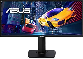 "Asus VP348QGL 34"" Ultra-Wide Freesync HDR Gaming Monitor 75Hz 1440P Eye Care DisplayPort HDMI"