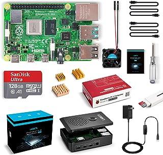 LABISTS Raspberry Pi 4 Model B 8GB RAM [Newest Released] Starter Kit with 128GB Micro SD Card Preloaded Raspberry Pi OS (R...