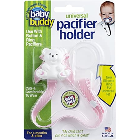 Pacifier Snack Clip Toy