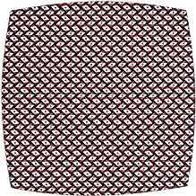 Benson Mills Basketweave Harbacked Mat, Set of 4, Fire