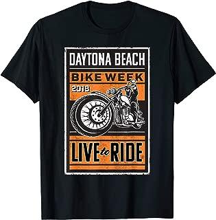 Live to Ride Daytona Beach Bike Week T-shirt