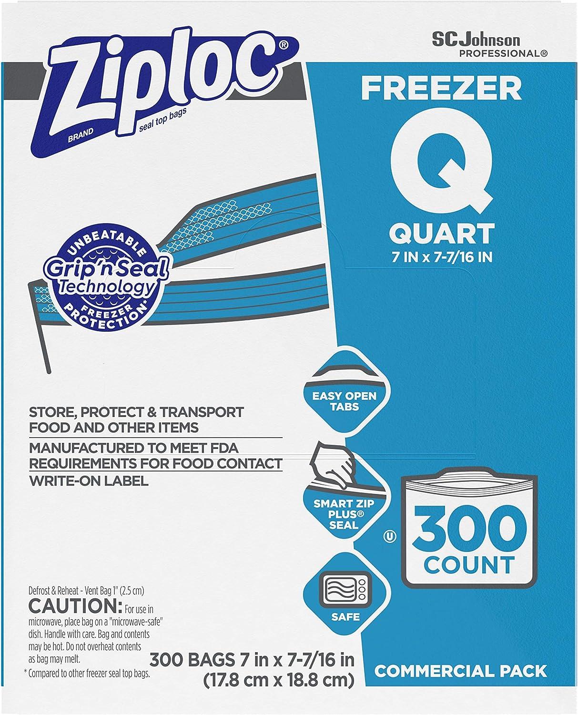SC Johnson Professional Ziploc Quart Denver Mall Freezer Food 5 ☆ very popular Storage Bags