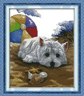 puppy cross stitch