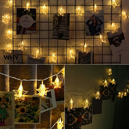 String Lights On Wall: Bedroom Pictures: Amazon.co.uk