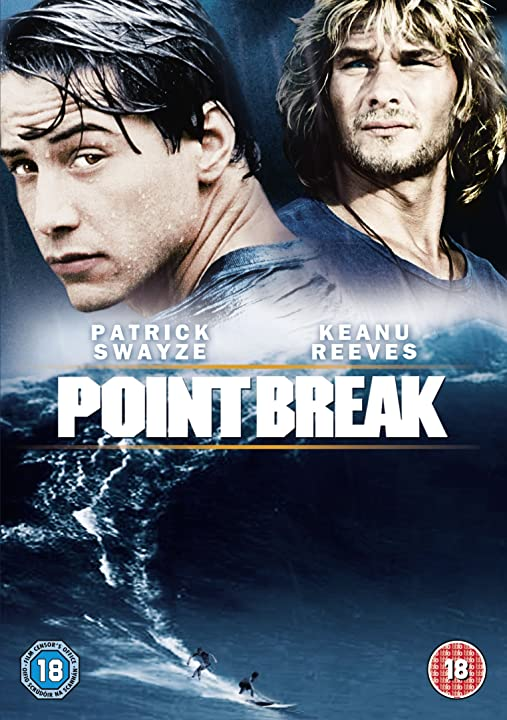Dvd - film - point break - keanu reeves - patrick swayze 5051892050920
