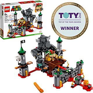 LEGO Super Mario Bowser's Castle Boss Battle Expansion Set 71369 Building Kit; Collectible Toy for Kids to Customize Their...