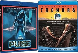 Tremors + Pulse Shock horror Blu-ray Collection 2 Movie Bundle Set