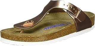 Birkenstock Australia Women's Gizeh SFB Sandals, Metallic