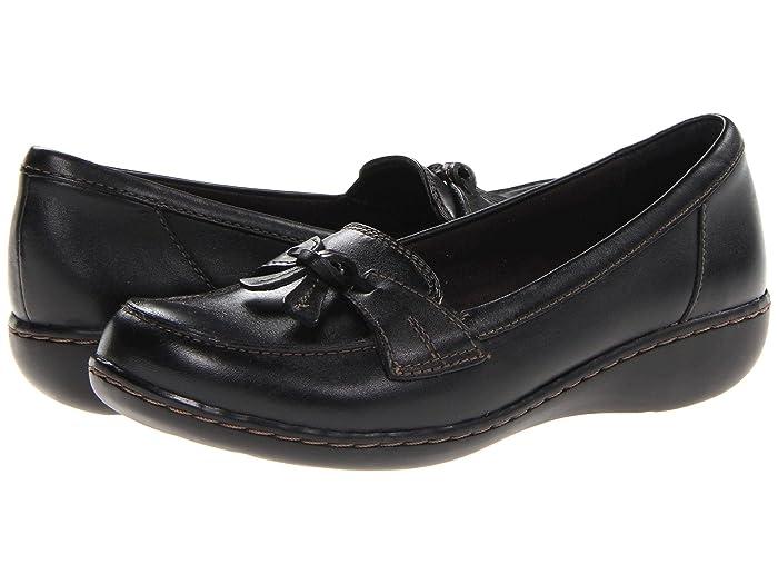 Clarks  Ashland Bubble (Black) Womens Slip on  Shoes