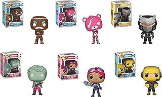 Funko Pop! Games: Fortnite Set of 6: Love Ranger, Merry Marauder, Cuddle Team Leader, Omega, Brite Bomber, and Raptor