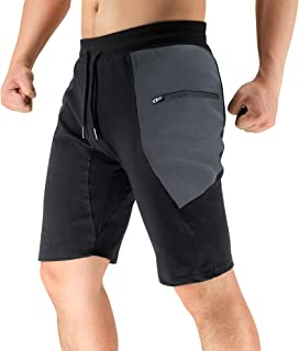 BROKIG Men's Sidelock Gym Workout Running Sport Shorts...