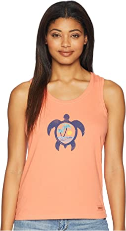 Paradise Turtle Sleeveless Crusher Tee