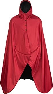 Mambe Extreme Weather 100% Waterproof/Windproof Hooded Blanket with Premium Stuff Sack..