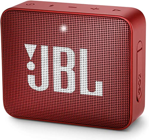 JBL GO2 - Waterproof Ultra Portable Bluetooth Speaker - Red