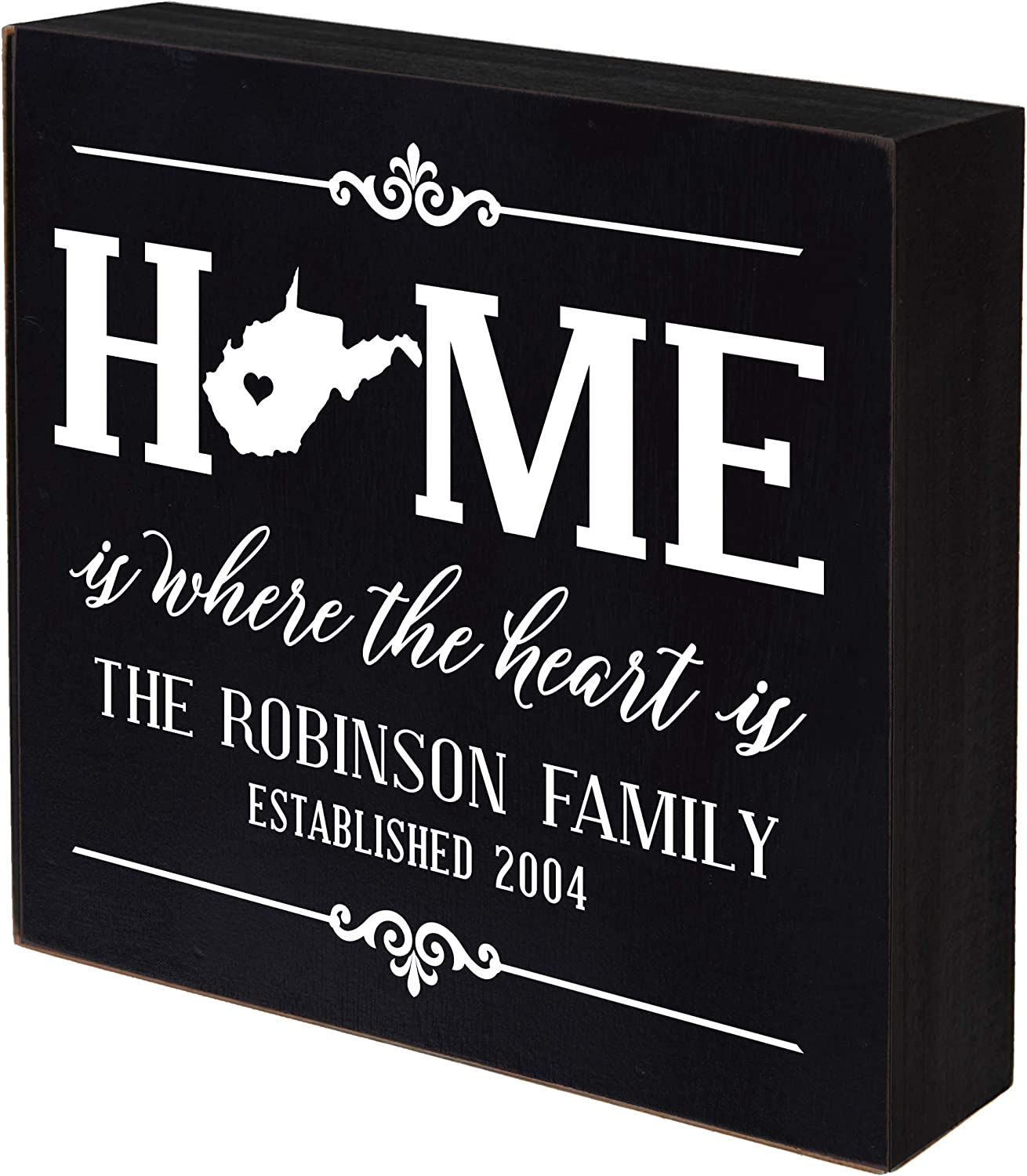 LifeSong Milestones San Antonio Mall Personalized West Shadow Home State Virginia Spring new work