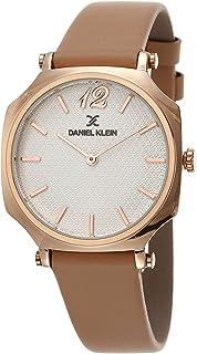 DANIEL KLEIN Premium Alloy Case Genuine Leather Band Ladies Wrist Watch - DK.1.12519-4