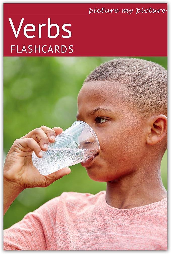 409 opinioni per Picture My Picture Verbi Flash Cards | Materiale ABA Autismo | Picture My