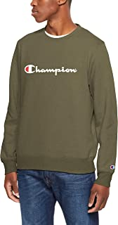 Champion Men's Champion Script Crew Pullover Sweat