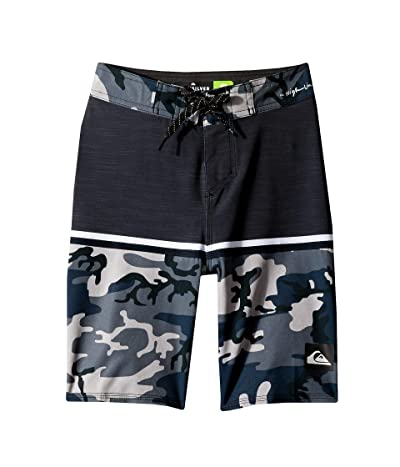Quiksilver Kids Highline Division 18 Boardshorts (Big Kids) (Iron Gate) Boy